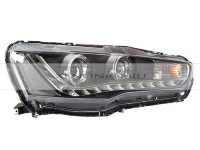 Фары Mitsubishi Lancer X LED DRL SNG